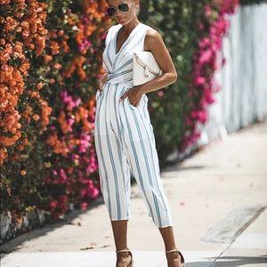8088bd1efa7a Pants - Women casual Capri romper jumpsuit stripes